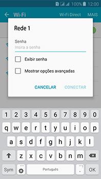 Como configurar uma rede Wi-Fi - Samsung Galaxy J7 - Passo 6