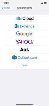 Como configurar seu celular para receber e enviar e-mails - Apple iPhone XR - Passo 5