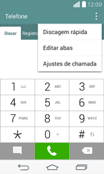 Como bloquear chamadas de um número específico - LG F60 - Passo 4
