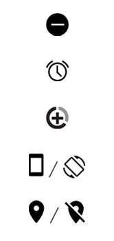 Explicação dos ícones - Motorola One - Passo 6