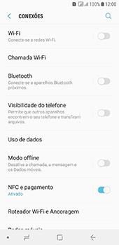 Como usar seu aparelho como um roteador de rede Wi-Fi - Samsung Galaxy J6 - Passo 4