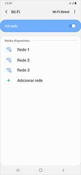 Como configurar uma rede Wi-Fi - Samsung Galaxy A50 - Passo 6