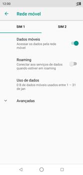 Como ativar e desativar o roaming de dados - Motorola One - Passo 6