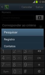Como bloquear chamadas de um número específico - Samsung Galaxy S III Mini - Passo 10