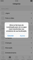 Como baixar aplicativos - Apple iPhone 7 - Passo 4