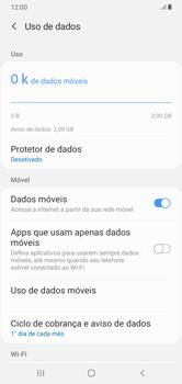 Como ativar e desativar uma rede de dados - Samsung Galaxy A10 - Passo 5