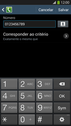 Como bloquear chamadas de um número específico - Samsung Galaxy S IV - Passo 12