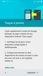 Como configurar pela primeira vez - Samsung Galaxy S6 - Passo 7