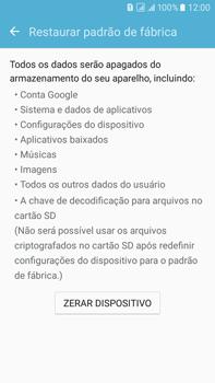 Como restaurar as configurações originais do seu aparelho - Samsung Galaxy On 7 - Passo 6