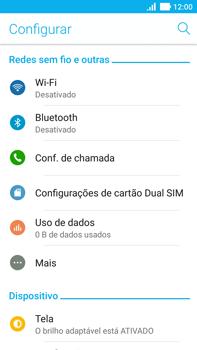 Como configurar uma rede Wi-Fi - Asus ZenFone 3 - Passo 3