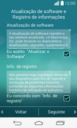 Como ativar seu aparelho - LG F60 - Passo 11
