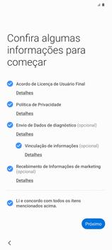 Como ativar seu aparelho - Samsung Galaxy S20 Plus 5G - Passo 5