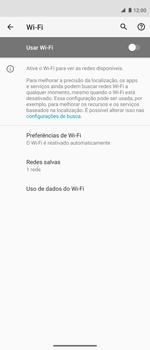 Como configurar uma rede Wi-Fi - Motorola Moto G 5G Plus - Passo 5