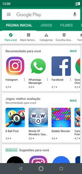 Como baixar aplicativos - Motorola One - Passo 4