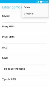 Como configurar a internet do seu aparelho (APN) - Asus ZenFone 3 - Passo 15