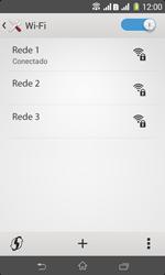 Como configurar uma rede Wi-Fi - Sony Xperia E1 - Passo 7