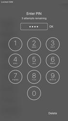 Como ativar seu aparelho - Apple iPhone 7 - Passo 5