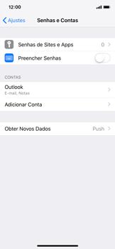 Como configurar seu celular para receber e enviar e-mails - Apple iPhone X - Passo 10
