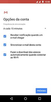 Como configurar seu celular para receber e enviar e-mails - Motorola Moto E5 - Passo 18