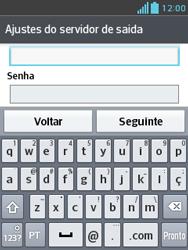 Como configurar seu celular para receber e enviar e-mails - LG Optimus L3 II - Passo 19