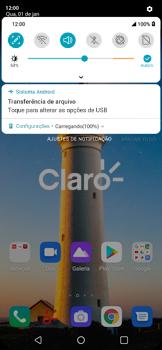Transferir dados do telefone para o computador (Windows) - LG K40S - Passo 3