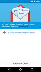 Como configurar seu celular para receber e enviar e-mails - Motorola Moto X4 - Passo 5