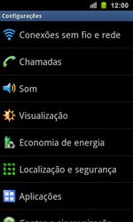 Como ativar e desativar uma rede de dados - Samsung Galaxy S II - Passo 3