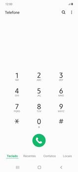 O celular não faz chamadas - Samsung Galaxy Note 20 5G - Passo 14