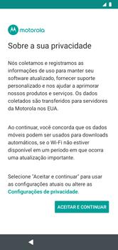 Como configurar pela primeira vez - Motorola Moto G7 Power - Passo 11