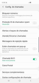 Como bloquear chamadas de um número específico - Samsung Galaxy S10 - Passo 8