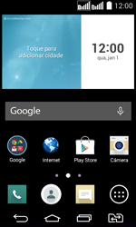 Como configurar seu celular para receber e enviar e-mails - LG G2 Lite - Passo 1