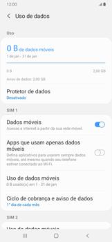 Como configurar a internet do seu aparelho (APN) - Samsung Galaxy A20 - Passo 5