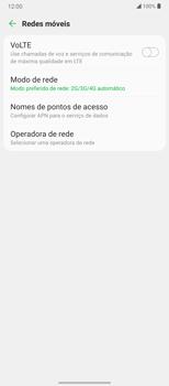O celular não recebe chamadas - LG Velvet 5G - Passo 7