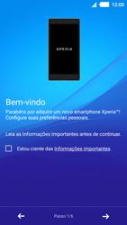 Como ativar seu aparelho - Sony Xperia M4 Aqua - Passo 5