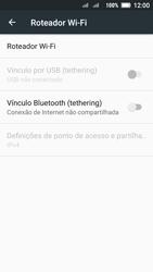 Como usar seu aparelho como um roteador de rede Wi-Fi - Lenovo Vibe C2 - Passo 5