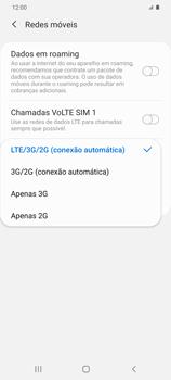 Como melhorar a velocidade da internet móvel - Samsung Galaxy S20 Plus 5G - Passo 7