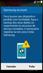 Como configurar pela primeira vez - Samsung Galaxy Ace 4 - Passo 12