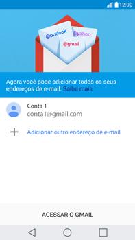 Como configurar seu celular para receber e enviar e-mails - LG G5 Stylus - Passo 15