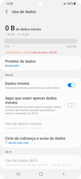 Como conectar à internet - Samsung Galaxy S21 Ultra 5G - Passo 8