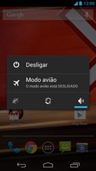 Como reiniciar o aparelho - Motorola Moto X (1ª Geração) - Passo 3