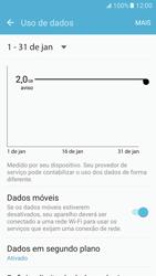Como ativar e desativar uma rede de dados - Samsung Galaxy S7 - Passo 4