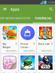 Como baixar aplicativos - LG Optimus L3 II - Passo 12
