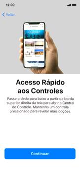 Como configurar pela primeira vez - Apple iPhone X - Passo 33