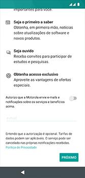 Como configurar pela primeira vez - Motorola Moto G7 - Passo 18