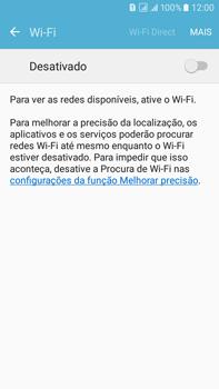 Como configurar uma rede Wi-Fi - Samsung Galaxy On 7 - Passo 4