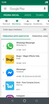 Como baixar aplicativos - Motorola One - Passo 5