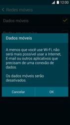 Como ativar e desativar uma rede de dados - Samsung Galaxy S5 - Passo 6