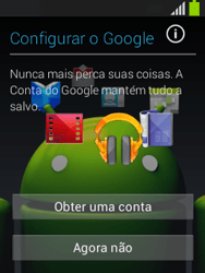 Como configurar pela primeira vez - Samsung Galaxy Pocket - Passo 8