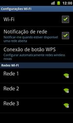 Como configurar uma rede Wi-Fi - Samsung Galaxy S II - Passo 6