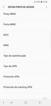 Como configurar a internet do seu aparelho (APN) - Samsung Galaxy S9 - Passo 12